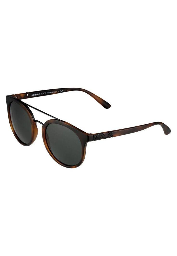 Burberry. Occhiali da sole - brown. #occhialidasole #sunglasses #zalandoIT #fashion #moda Portaocchiali:Custodia rigida. Protezione UV:Sì. Astine:15 cm nella taglia 53. Ponte:1.4 cm nella taglia 53. Larghezza:14 cm nella taglia 53. Fantasia:monocromo