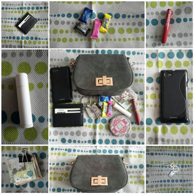"""1 Me gusta, 1 comentarios - SerColombiana (@sercolombiana) en Instagram: """"¿Qué hay en mi bolso de noche - fiesta - cita?  Los esenciales de un bolso de noche: #minibag…"""""""