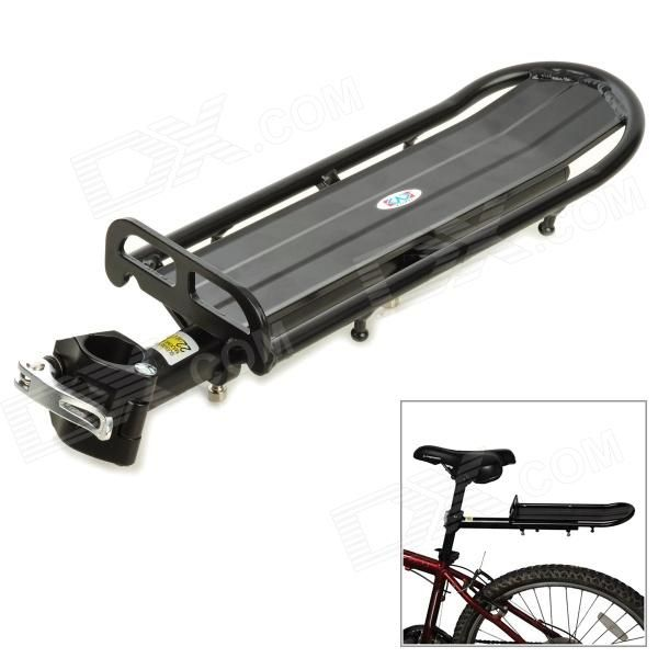 Bicycle Bike Aluminum Alloy Quick Release Rear Back Luggage Rack - Black Price: $25.48