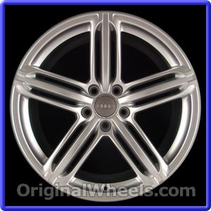OEM 2013 Audi A4 Rims - Used Factory Wheels from OriginalWheels.com #AudiA4 #A4 #2013AudiA4 #13AudiA4 #2013 #2013Audi #2013A4 #AudiRims #A4Rims #OEM #Rims #Wheels #AudiWheels #AudiRims #A4Wheels #steelwheels #alloywheels