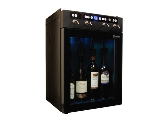 Wine Dispenser Motorized Tap Chiller Bar Restaurant Supplies Modern Home Party