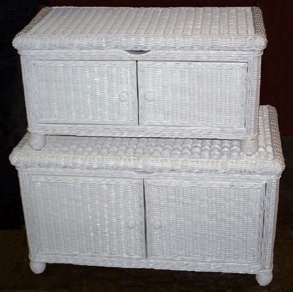Natural Wicker Storage Trunk Large Br Small White Honey Whitewash Dark Sta All About Furniture And Replacement Cushions