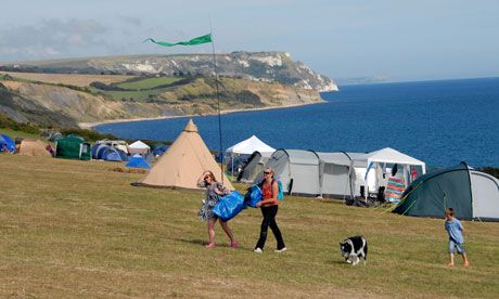There are some gorgeous campsites in Dorset, many overlooking the Jurassic Coast. The founder of the Cool Camping Guides picks his favourites