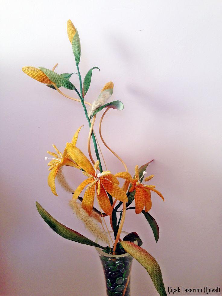 çuval çiçek (zambak)