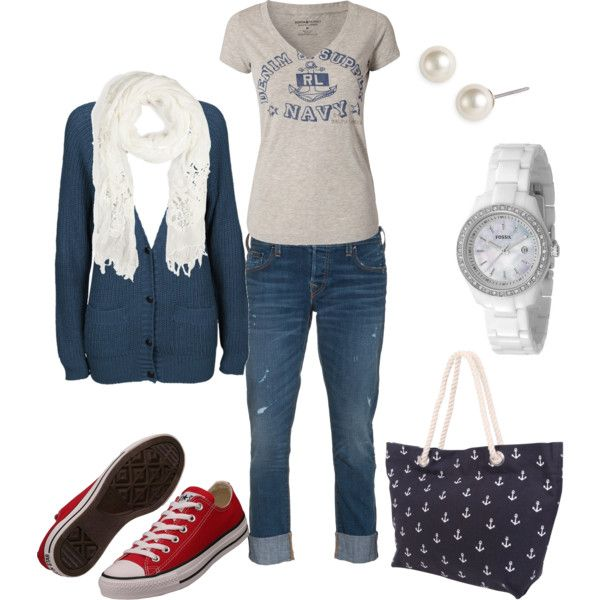 Idk where the red chucks fit in but I still love the outfit because I'm a mom and its cute and it would be comfy