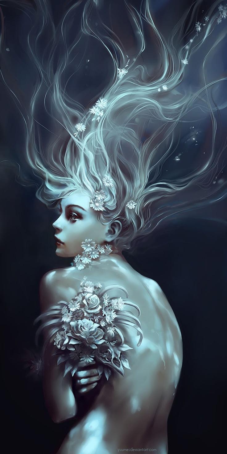 Digital Art by Wenqing Yan #art #illustration