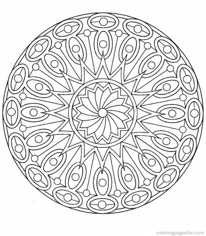 Coloring mandala designs can be really fun. | Coloring Pages Fun ...