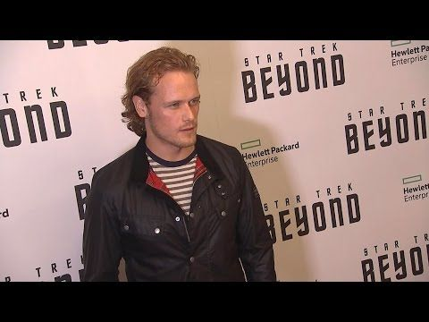"""NEW Interview of Sam Heughan at the """"Star Trek : Beyond"""" NY Premiere from Access Hollywood   Outlander Online"""