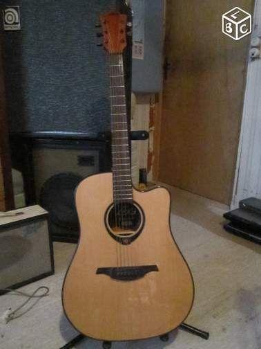 Guitare Folk électroacoustique LAG