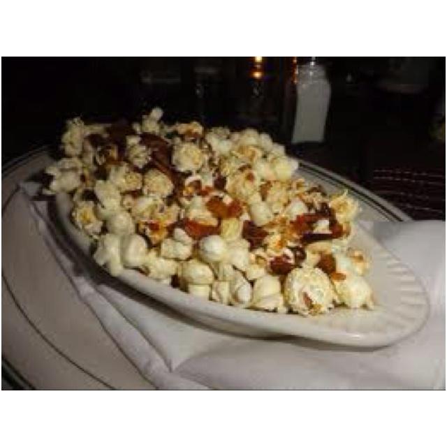 Bacon Popcorn. Brady Tavern, Tulsa.