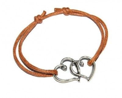 Bransoletki Sznurkowe Eternal Love. Serce. 56 Kolorów #bracelet #bransoletka