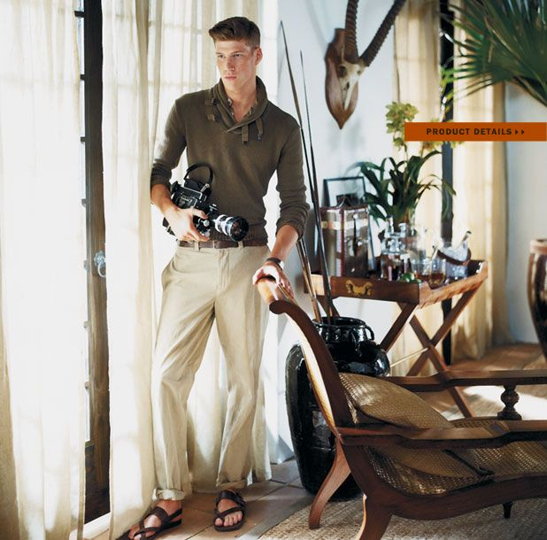 19 best images about ralph lauren safari style on for Safari style home decor