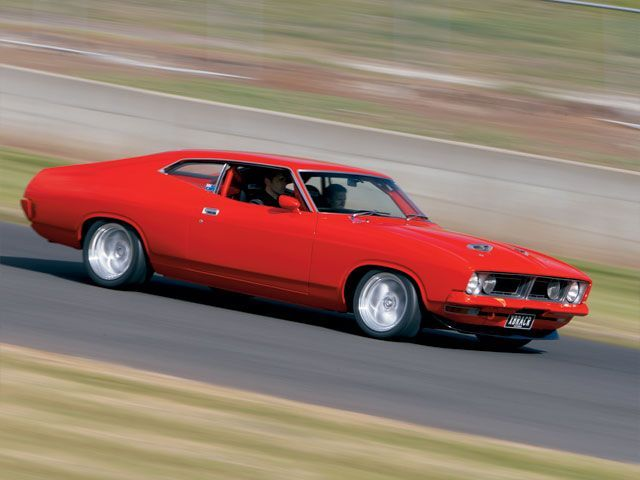 Eric Bana's 1973 XB Ford Falcon Coupe