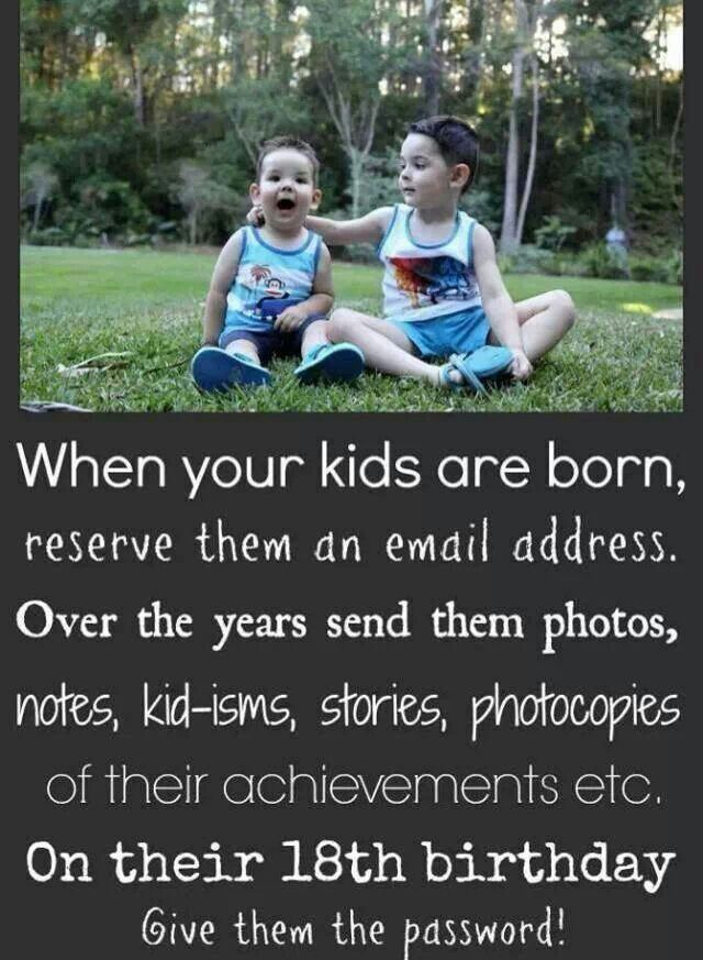 Email kids