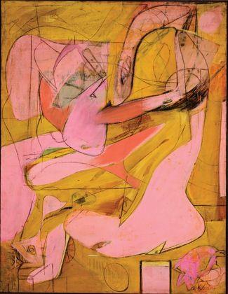 Willem de Kooning - Pink Angels 1945