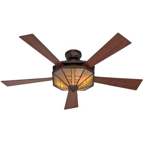 Superb Craftsman Style Ceiling Fan #2 Mission Ceiling Fans With Lights
