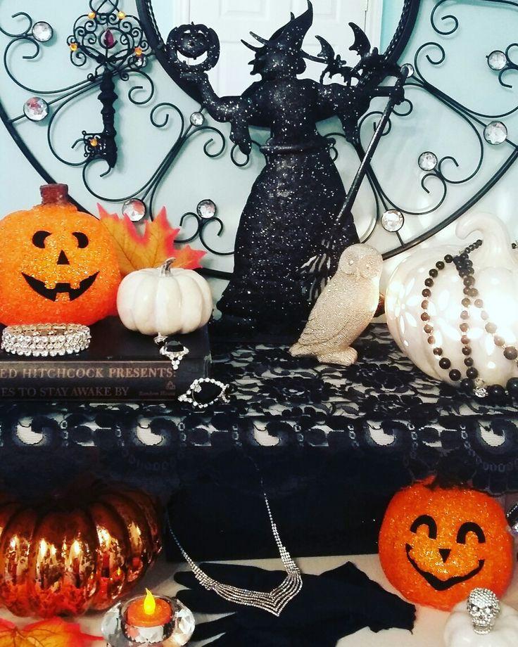 My version of glam halloween...