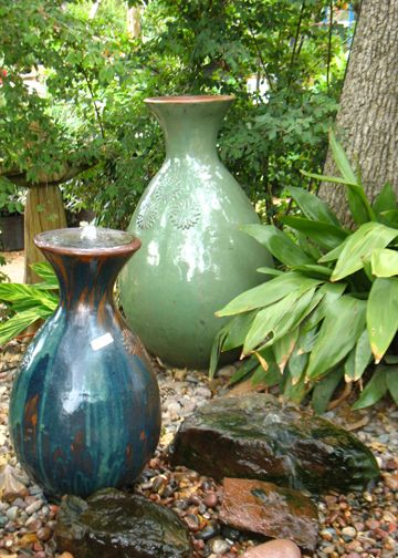 Turn Any Of Your Favorite Pottery Into A Water Feature! Garden FountainsWater  FountainsGarden ...
