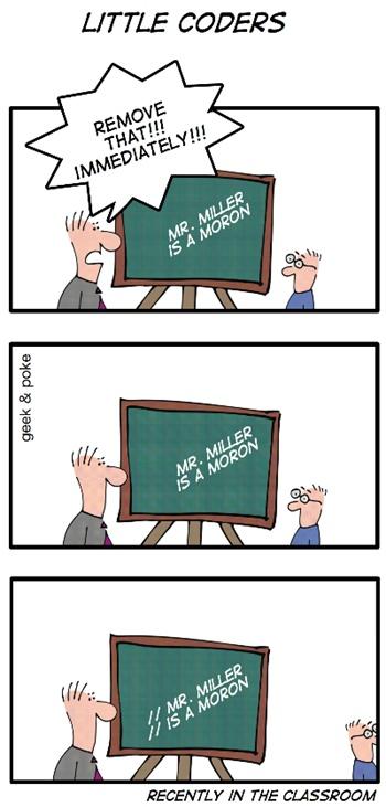 funny humor computer programming geek memes jokes science humour nerd software witze doesn programmer little code programmieren tech comment stuff