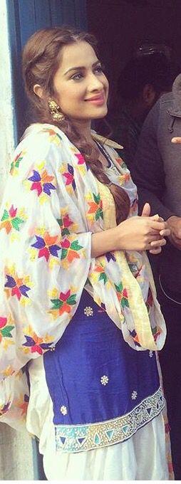Punjabi suit- for query whatsapp +917696747289 https://www.facebook.com/punjabisboutique  @nivetas @nivetas #phulkari #saragurpal