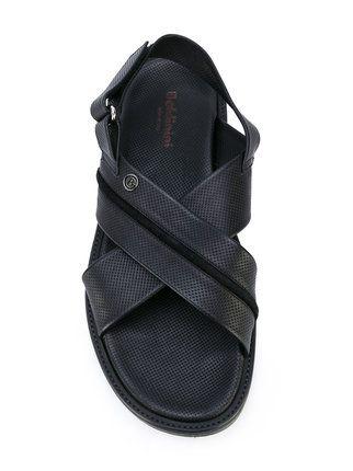 Baldinini hook & loop flat sandals