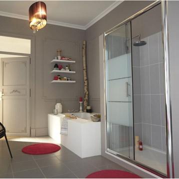 86 best Carnet du0027idées salle de bain images on Pinterest Bathroom - pose de porte coulissante