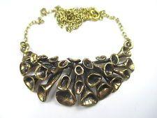 Bronze Designer Halskette Vintage Kette 70er Finnland Sarpaneva ? Modernist g n4