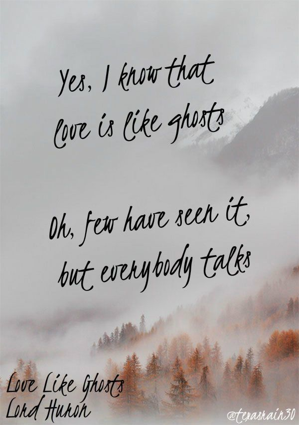 Love Like Ghosts - lord huron lyrics | Lord huron lyrics