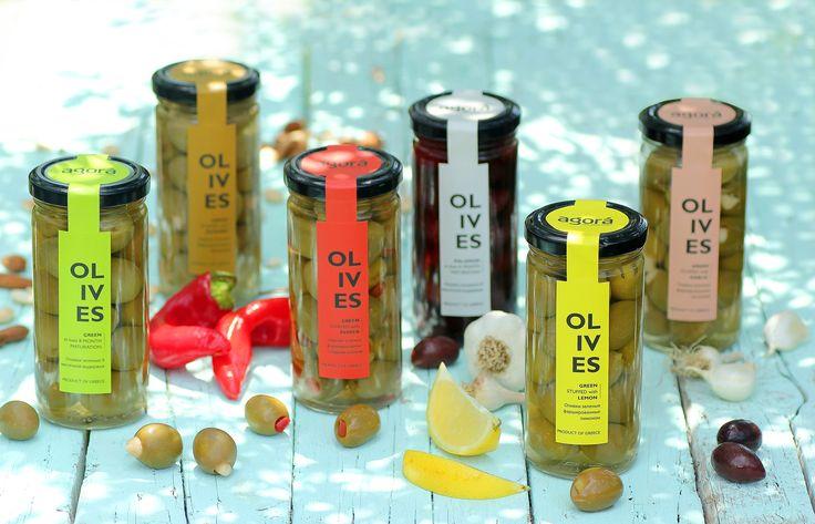 Agora Greek Olives & Pastes — The Dieline