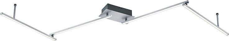 TRIO Leuchten LED Deckenleuchte, »HIGHWAY« Jetzt bestellen unter: https://moebel.ladendirekt.de/lampen/deckenleuchten/deckenlampen/?uid=e531efa8-50ef-59ae-9c64-9afbb0242224&utm_source=pinterest&utm_medium=pin&utm_campaign=boards #deckenleuchten #lampen #deckenlampen