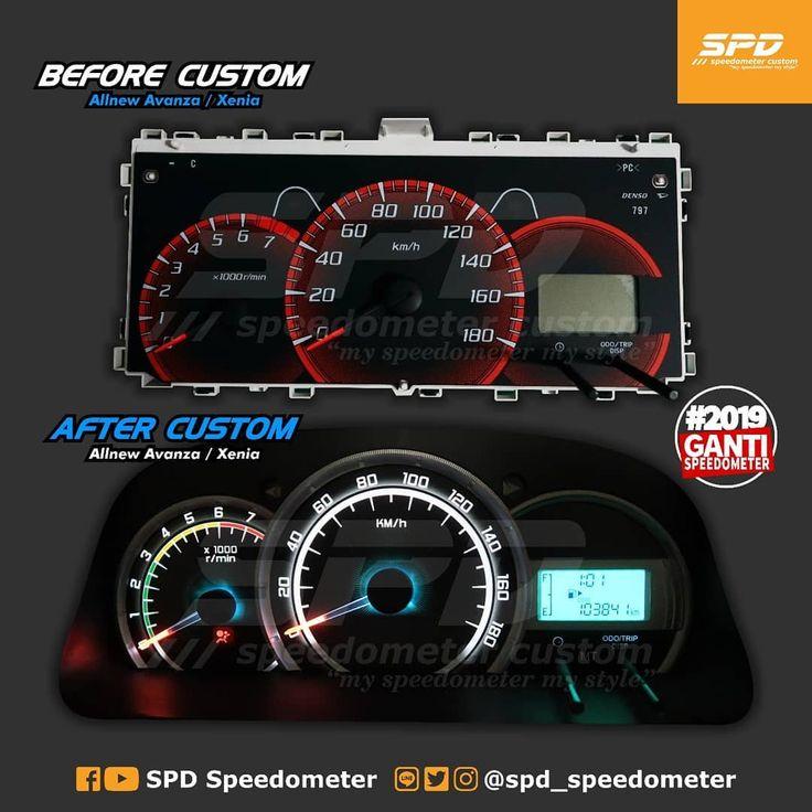 Panel Speedometer All New Avanza    Xenia