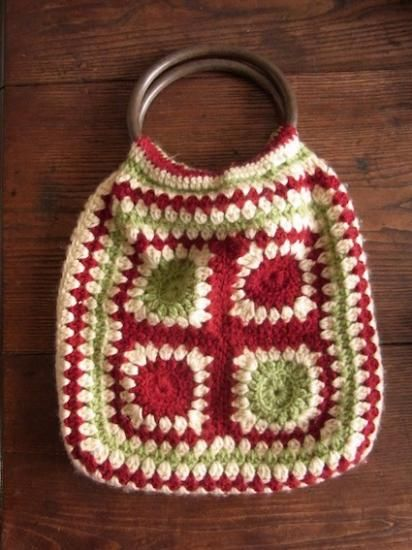 handmade knitted bag from Germany - caikot 伝えたくなるヴィンテージ