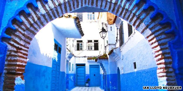 The electric beauty of Morocco's blue city