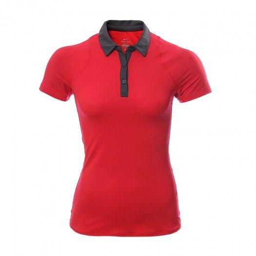 Luce súper femenina y entrena al máximo usando la Camiseta tipo Polo #Nike Sphere. La Camiseta tipo Polo Nike Sphere es ligera, cómoda y te mantendrá seca y fresca todo el tiempo.
