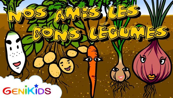 Film: Nos amis les bons légumes - Dessin animé éducatif Genikids