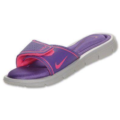 Luxury New Women39s Nike Comfort Slide Sandals Black 360883011 Flip Flop