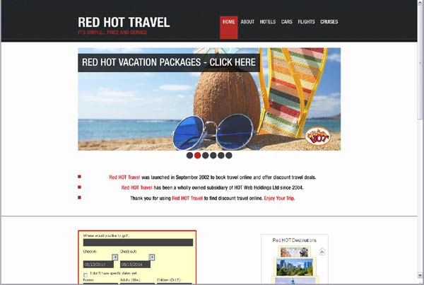 Red HOT Travel 2014