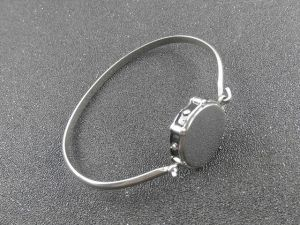 Snare Drum Stainless Steel Bangle