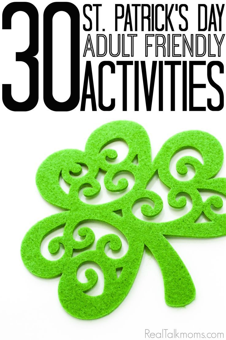 30 Adult Friendly St. Patrick's Day Activities so you can celebrate with a little imagination this year! #26 is our new favourite St. Patricks Day tradition!