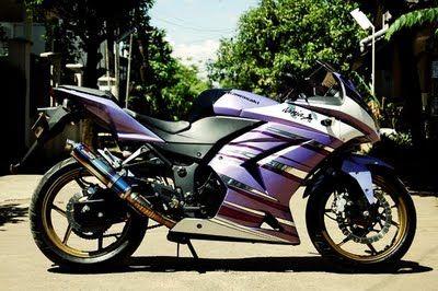 Ide Modifikasi Kawasaki Ninja 250 cc | MOTORMU.COM