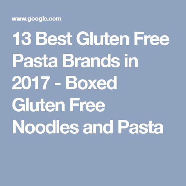 13 Best Gluten Free Pasta Brands in 2017 - Boxed Gluten Free Noodles and Pasta