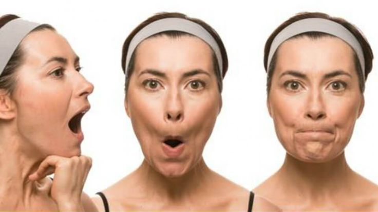 7 ejercicios faciales para evitar la flacidez y las arrugas prematuras - Mejor con Salud