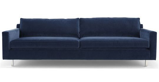 """HUNTER SOFA[ available online ]dims100""""w 39""""d 32""""h seat dims90""""w 23""""d 20""""h arm height24"""" frame height27"""" C.O.M.17 yards"""
