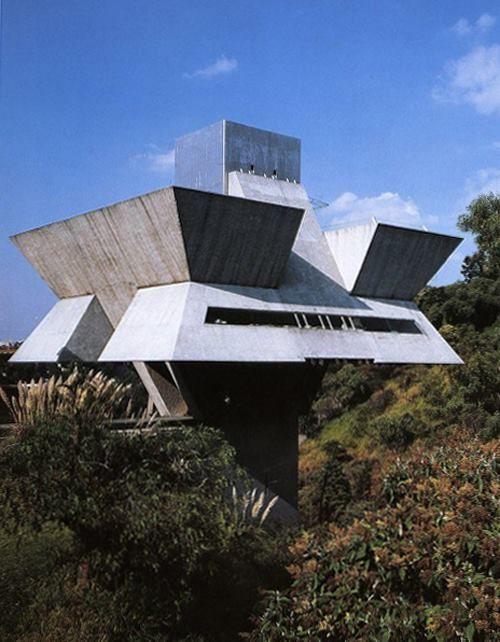 Agustin Hernandez' Studio in Mexico City
