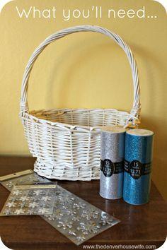 FROZEN Easter Basket Tutu tutorial