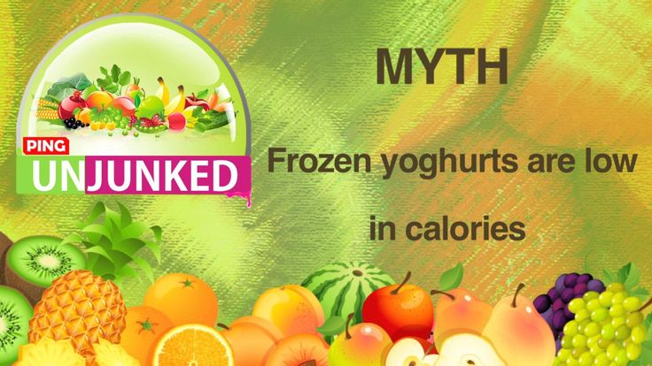 Food Myth || Frozen Yoghurt Is Low In Calories