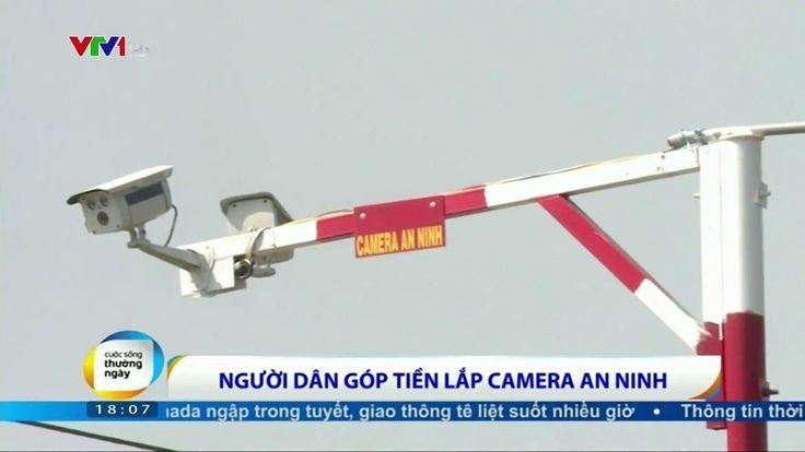 Dân quê Cần Giuộc, Long An góp tiền lắp camera an ninh