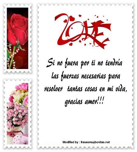 mensajes originales de amor para mi pareja,mensajes bonitos de amor para whatsapp: http://www.frasesmuybonitas.net/lindas-frases-para-agradecer-a-mi-novio/