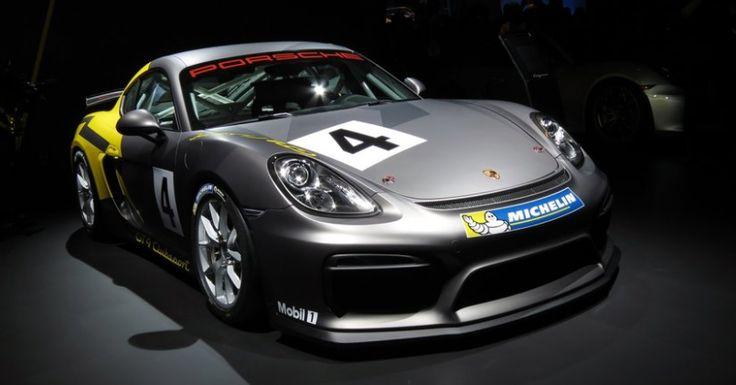 2017 Porsche Cayman GT4 Redesign and Engine Upgrade