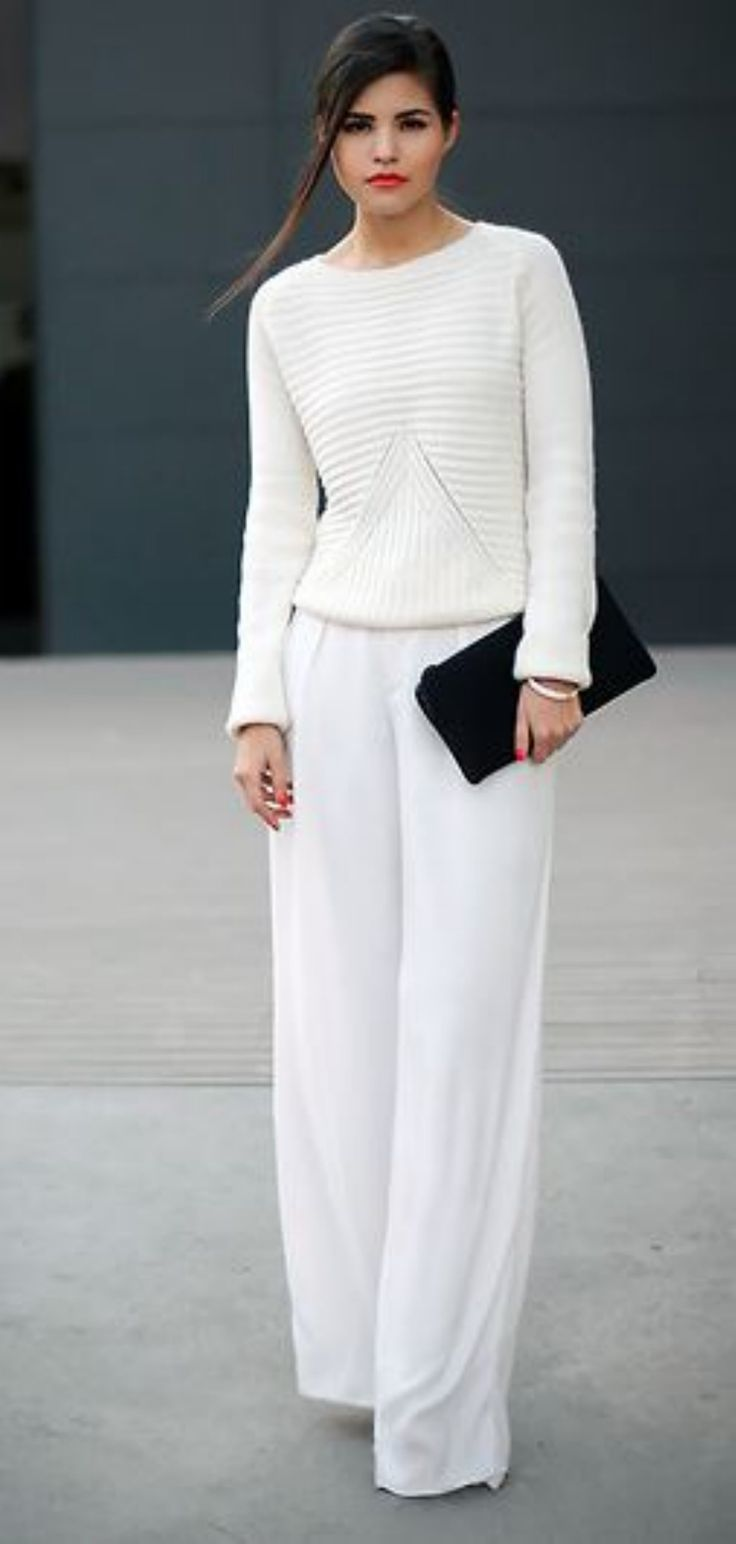 Cool Perfect White Linen Pants Outfit For Summer and Spring from https://www.fashionetter.com/2017/04/17/perfect-white-linen-pants-outfit-summer-spring/